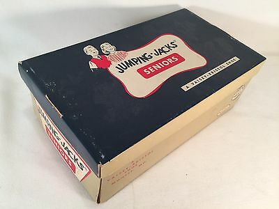 VINTAGE Jumping Jacks Seniors Shoe Box only Vaisey-Bristol Shoe 3C