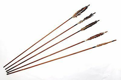 Set of 5 Old Japanese Arrows from Japan 347