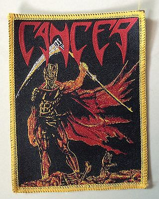 CANCER WOVEN Patch benediction pestilence sinister obituary immolation