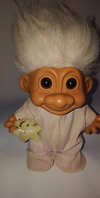 Troll Doll Vintage 17cm Collectable