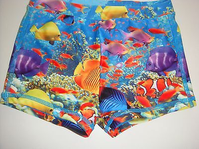 Disney Finding Nemo Boys Swimming Trunks Shorts 18-24 Months