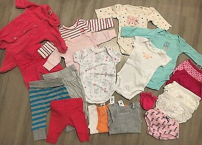 Baby 0000 Clothes Bulk Lot Mixed Girl Unisex Excellent Or New Condition 20 Items