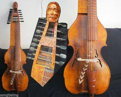 "Carved Baroque Style SONG Maestro 6x10 strings 25 1/4 ""(641mm) BARYTON"