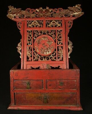 19th Century Antique chinese altar from China | Antique Buddha Statues