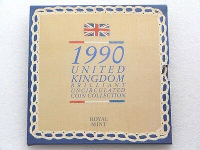 1990 Royal Mint UK Brilliant Uncirculated Coin Collection