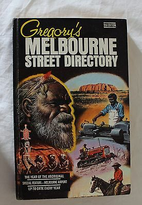 Gregory's Melbourne Street Directory 5th Ed.