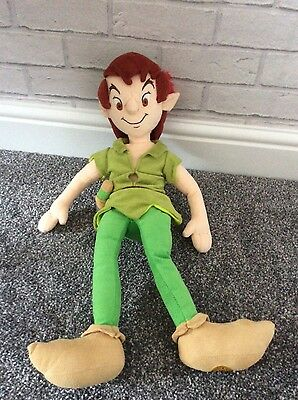 Disney Store Exclusive Peter Pan Plush Soft Toy