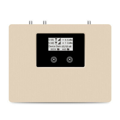 LTE4G internal booster 800MHz mobile signal repeater 70dB gain amplifier antenna