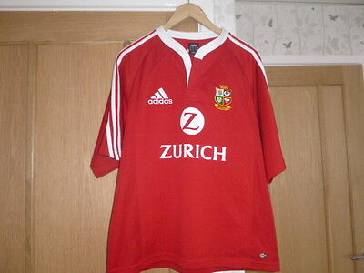 Hardly worn British Lions Rugby Jersey to New Zealand 2005  size medium