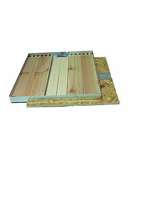 """National Shallow 4"""" Roof (Cedar Flat Packed) 2nd Quality"""