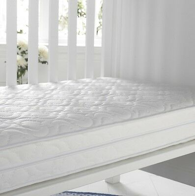 Hushabye Baby cotbed cot bed Spring Mattress 140  x 70 cm.