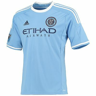 Adults Large New York City FC Home Shirt 2015-16 M34