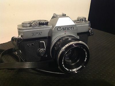 Canon FT QL with 50mm 1.8 lens