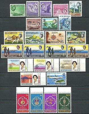 SEYCHELLES Lot of Mint Stamps mostly MNH
