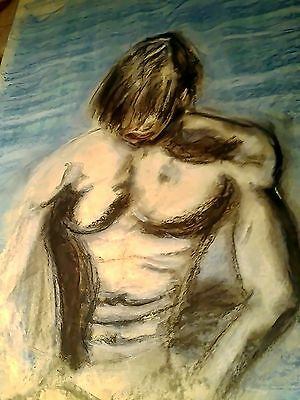 Painting, drawing inspired JEAN PAUL GAULTIER Le Male