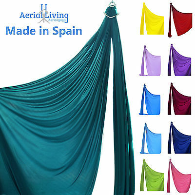 Aerial silks (Fabric, tissue) for acrobatics and dance Made in SPAIN by metre