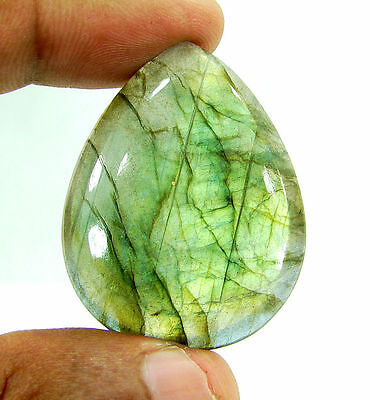 65.50 Ct Beautiful Natural Cabochon Labradorite Loose Gemstone Stone - 10322