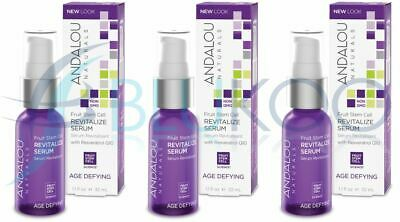 Andalou Fruit Stem Cell Revitalize Serum - 32ml (Pack of 3)