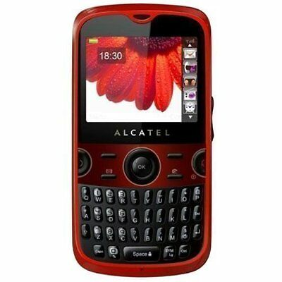 Kids Toy Dummy Cell Phone Red Alcatel OT800 Nonworking Fake Display - New