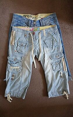 Ladies 3/4 Jeans Size 10 x 2