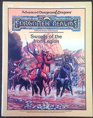 Advanced Dungeons & Dragons I14 Swords Of The Iron Legion