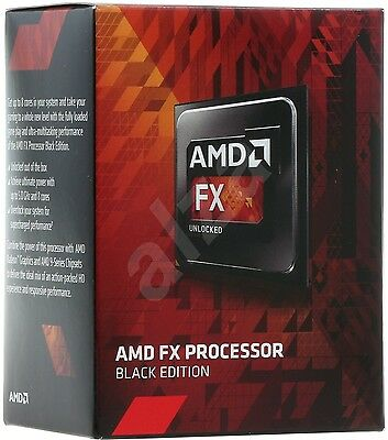 Cpu AM3 AMD FX 8300 Black Edition 8-Core 4.2GHz + Scheda Madre MSI 970A-G43 AM3+