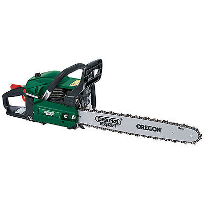 Draper Expert 45cc 450mm Petrol Chainsaw with Oregon Chain and Bar