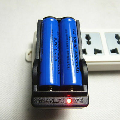 Battery 3.7V Charger Universal For 18650 EU/US Rechargeable Li-ion Dual 2017 RF