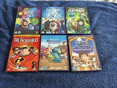 Selection of DVD Disney Movies Including Frozen