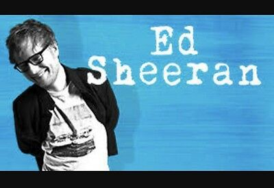 2x Ed Sheeran Tickets Melbourne GA Front Standing Sunday 11th March