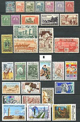 TUNISIA Lot of Mint Stamps MNH / MH