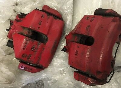 Vw Golf Gti Mk5 Front Brake Calipers Audi Seat Skoda Caddy 312mm