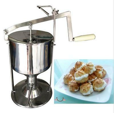 Manual Donut Puff Filler Jelly Filling Cream Filled 5L Kitchen Tool Cooking 4L S