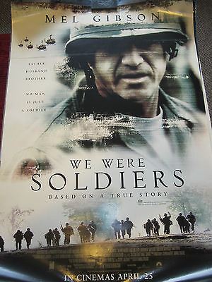 We Were Soldiers : Orig Australian one sheet : 2002