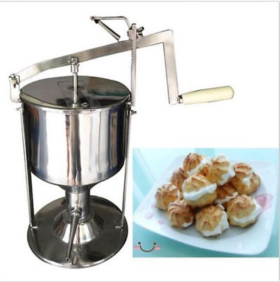 Manual Donut Puff Filler Jelly Filling Cream Filled 6L Kitchen Tool Cooking Y