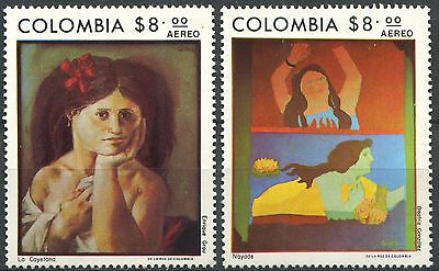 COLOMBIA 1977 Paintings Complete Set Mint MNH