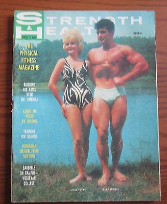Dec 1965 Strength And Health Muscle Magazine Mr America Val Vasilieff