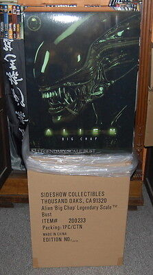 Sideshow Collectibles ; Alien `Big Chap´ Legendary Scale Bust