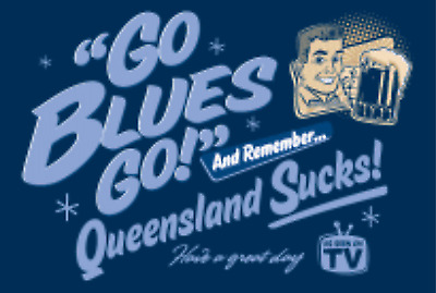 State of Origin NSW go go large display banner / Flag