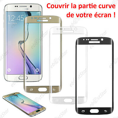 Film Protection écran Verre Trempé INCURVE Anti casse Samsung Galaxy S6 edge