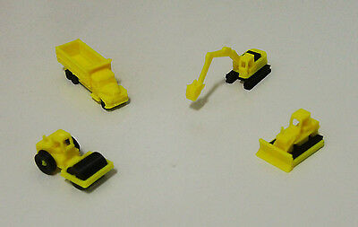 Outland Models Railway Miniature Heavy Construction Vehicle Set Z Scale 1:220