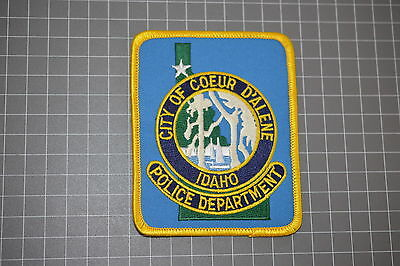 City Of Coeur D'Alene Idaho Police Department Patch (T3)