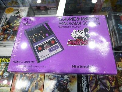 NINTENDO GAME&WATCH MICKEY MOUSE PANORAMA SCREEN Brand New Sealed VERY RARE!!!