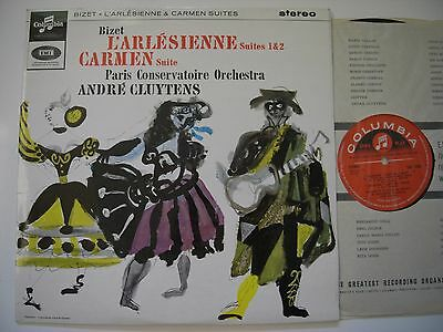 Columbia Sax 2566 Bizet Pco Cluytens 1.edition Mint Vinyl Looks New Clean Sleeve