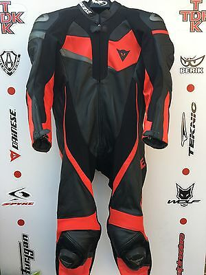 Dainese Volster 1 piece race suit with hump uk 46 euro 56 mint