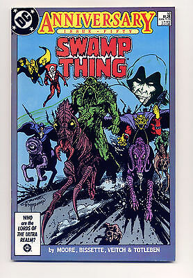 Swamp Thing #50 VF/NM 1986  ~ Fast Shipping ~ DC Comic Book