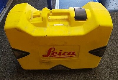 Leica Rugby 610 Rotating Laser Level, Rod Eye Basic Receiver