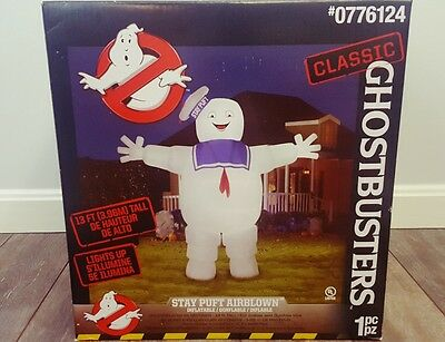 13ft Ghostbusters Stay Puft Marshmallow Man Inflatable