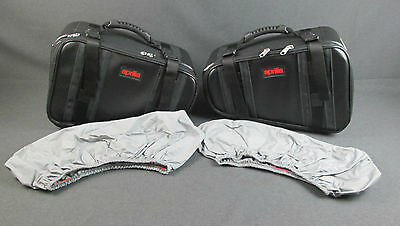 New Genuine Aprilia Pegaso650 Strada-Trail 05-09 Luggage Bag Pair AP8792397 (MT)