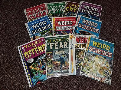 Tales from the Crypt Weird Science Gemstone Gladstone EC Comics Lot of 10